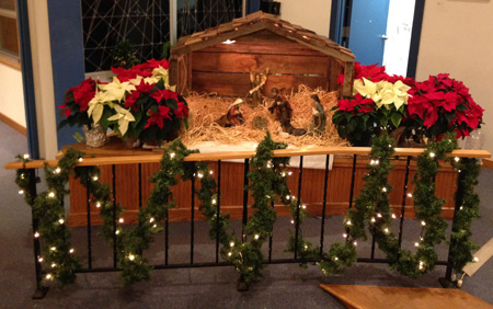 creche2013 - Christmas Church Decorations